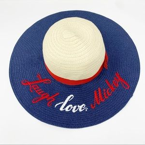 Disney Parks Collector's Straw Hat